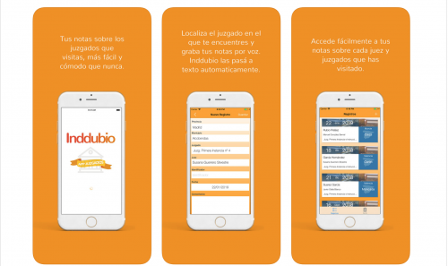 Indispensables en tu móvil: nueva App Juzgados de Inddubio.